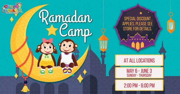 Ramadan Camp 2019 @ Cheeky Monkeys