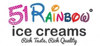 51 Rainbow Icecream Dubai