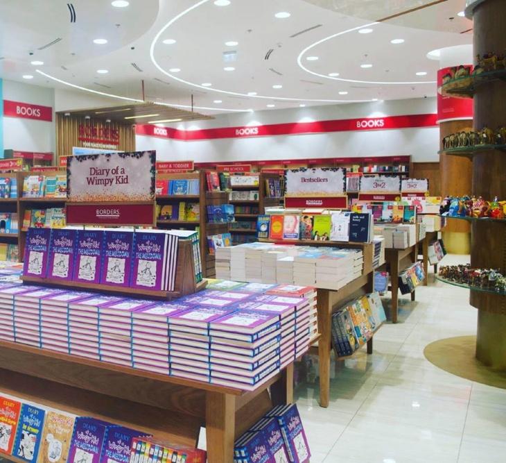 Borders Book Store @ The Dubai Mall